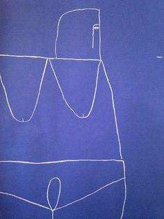 ana kras drawings @ Ed Varie