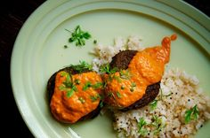 Lentil Cakes Tikka Masala. My veggie patty obsession continues, this time with an Indian twist. Source: Recipe and image by Tom Hirschfeld for Food 52