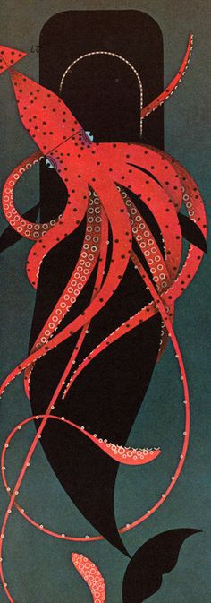 octopus - The Animal Kingdom: Written by George S. Fichter: illustrated by Charley Harper Design Graphique, Art Graphique, Graphic Illustration, Graphic Art, Whale Illustration, Plakat Design, Charley Harper, Animal Kingdom, Cool Art
