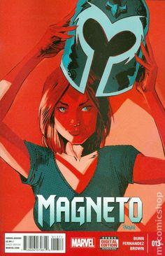 Magneto (2014) 13 Marvel Comics Modern Age Bronze Age Comic book covers Super Heroes VilliansX-men Mutants