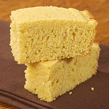 Cornbread: easy and yummy! add less sugar and a dab of honey...and used corn flour instead of cornmeal.