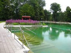 One of my favourite swimming pools in Munich : Maria Einsiedel