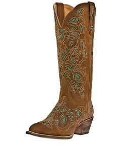Women's Miranda Boots - Brown  by Laredo Western Boots  These are awesome too. I like all of the colors of the Miranda Boots by Laredo.