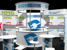 Dionwired Stand 10x6 Closed up of Tower view