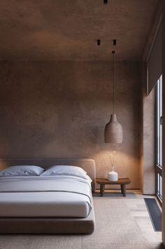 The Spirit Of Wabi-Sabi Interiors Home Bedroom, Bedroom Decor, Tadelakt, Minimalist Interior, Apartment Interior, Home Interior Design, Interior Inspiration, House Design, Decoration