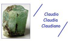 Significato del nome CLAUDIA / CLAUDIO  Claudio è un nome che ha origini sabine, nella forma latina Claudius, significa zoppo ossia claudicante. Con dinastia Giulio-Claudia si indica