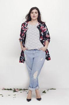 Plus Size Distressed Boyfriend Jeans (Plus Size) | Nordstrom