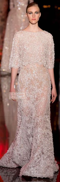 Elie Saab Fall Winter 2014-15 Haute Couture I <3 Elie Saab, sigh...