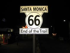 The end of the road for some...Santa Monica