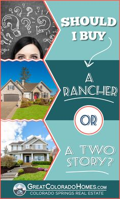 """This article explains 5 main differences between a """"Rancher"""" and a """"Two-Story"""" style of home."""