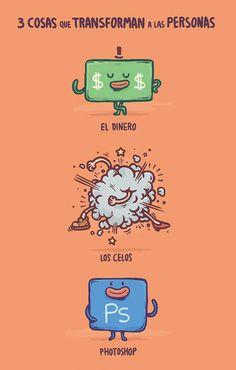 Tres cosas que transforman a las personas.