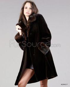 Real Genuine Mink Fur Soft Women Mom/'s Outwear Jacket Winter Luxury Trench Coats