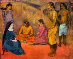 Gauguin 1902 La Soeur de charite.