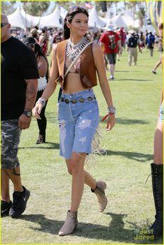 Kendall Jenner at Coachella Music Fest April 10,2015