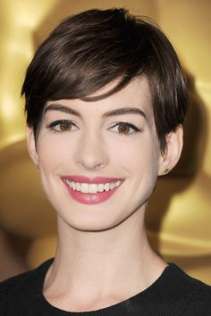 Anne Hathaway - tips for cut and style