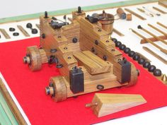 100 best images about cannon- models Ball Cannon, Model Sailboats, Model Ship Building, Hms Victory, Wooden Ship, Big Guns, Navy Ships, Game Pieces, Model Ships