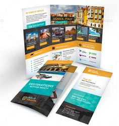 30 Creative Examples Of Tri Fold Brochure Designs Design Pinterest Brochure Design Travel