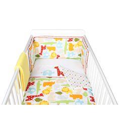 Sbook Safari 4 Piece Bedding Set Kiddicare