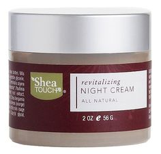 Shea Touch - Revitalizing Night Cream (2 Oz/56g) >>> This is an Amazon Affiliate link. To view further for this item, visit the image link.