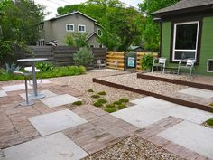 Pinterest the world s catalog of ideas for Grassless garden designs