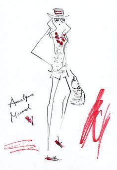 """Annalynne Mccord"" as Naomi Clark in The CW's ""90210."" Check her summer style! 「新ビバリーヒルズ青春白書」のナオミ役で人気のアナリン・マッコード。"