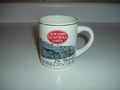 vintage new york central lines hudson mug cup. $6.95, via Etsy.