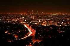 Now: Mulholland Drive -- my favorite Los Angeles road Mulholland Drive, Los Angeles Skyline, Los Angeles California, Activities In Los Angeles, Fantastic Voyage, Hermosa Beach, City Of Angels, California Travel, Google Images