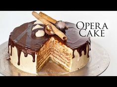 Opera Cake - Tatyanas Everyday Food