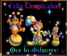 SUEÑOS DE AMOR Y MAGIA: Cumpleaños