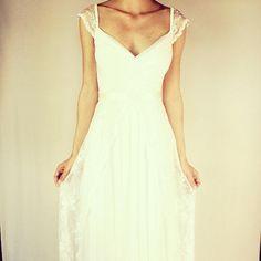 Keira Vestido de Novia de Boho vestido de novia vestido de