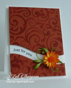 Stamping with Loll: Embossing Folder Technique