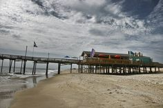 Artists Choice Category. Fish Heads on the Outer Banks Fishing Pier. Great Food and 25 Beers on tap. bob Rush.jpg