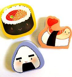 sushi notepads