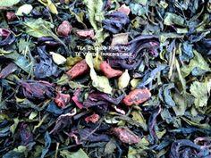 Irresistible - (té verde, flores de hibiscus, frutilla, cardamomo y vainilla)