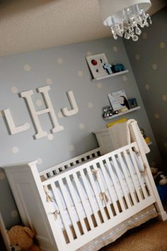 Classic Baby Boy Nursery traditional kids