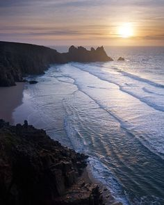 Pedn Vounder, Cornwall, UK