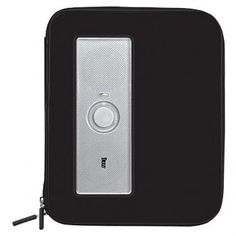 iLuv iSP210BLK Portable Amplified Stereo Speaker Case for iPad, iPad 2, MP3 Player and Tablets - Black - myaccessoryguy
