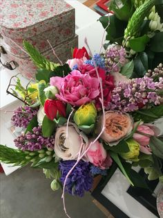 Wedding bouquet  Spring flowers  Bright and colourful! Beautiful!!!