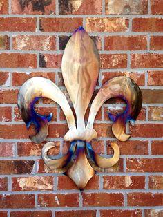 Fleur De Lis Metal Wall Decor home decor romantic Decor French Country fluer de lis