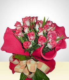 Buquê de 24 Rosas