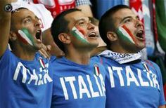 My Italian Team lost yesterday...but the sexy fine Uruguay babies beat them, so all is well in my little world. ♥