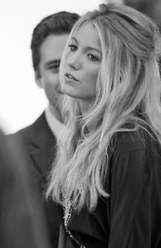 Blake Lively and her hair are perfection.