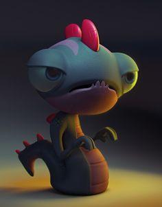 ArtStation - Little Monster, Fabricio Campos