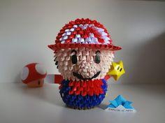 Origami 3D - Super Mário