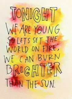 we can burn brighter