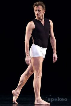 Mikhail Baryshnikov. He is so beautiful.