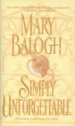 Simply Unforgetable (Simply Quartet, Book 1) by Mary Balogh