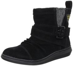 awesome Rocket Dog Suede Mint Black Womens Boot