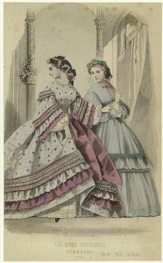 February, 1862 - Peterson's Magazine