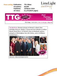 TTG EBlast - Butlin's St Paddys Day - 18 March (1)